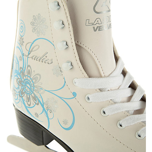 Фигурные коньки Спортивная коллекция Ladies velvet Classic - белый от Спортивная Коллекция