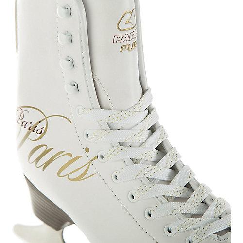 Фигурные коньки Спортивная коллекция Paris lux fur - белый от Спортивная Коллекция