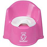 Кресло-горшок BabyBjorn, розовый