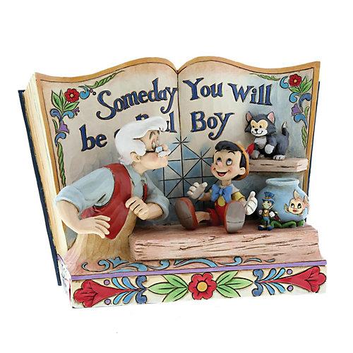 """Фигурка Enesco Disney Traditions """"Однажны ты станешь настоящим мальчиком"""" от Enesco"""