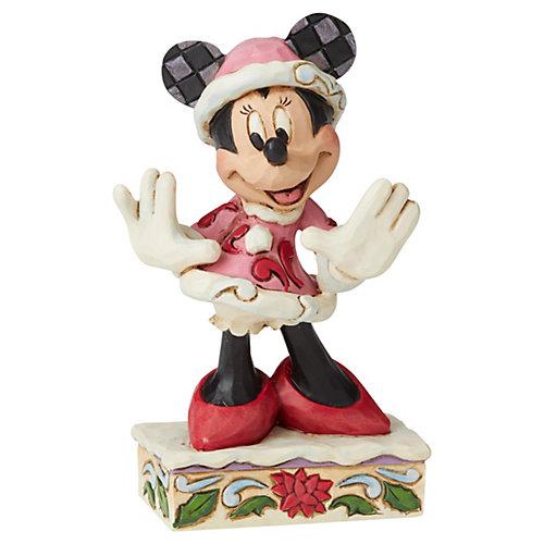 """Мини-фигурка Enesco Disney Mickey Mouse & friends """"Рождественская Минни Маус"""" от Enesco"""