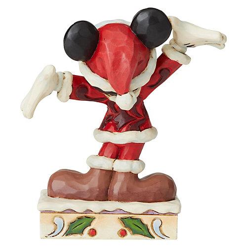 "Мини-фигурка Enesco Disney Mickey Mouse & friends ""Рождественский Микки Маус"" от Enesco"