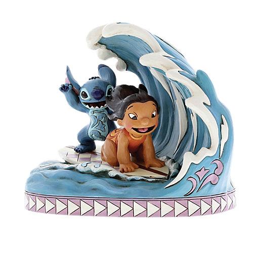 "Фигурка Enesco Disney Traditions ""Поймай волну: Лило и Стич"" от Enesco"