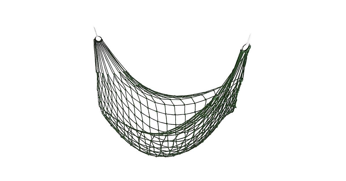 Netzhängematte 1 Person dunkelgrün  Erwachsene