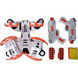 Игровой набор BLD Toys Space Wars Стрельба из бластера по гравитрону с мишенями, звук