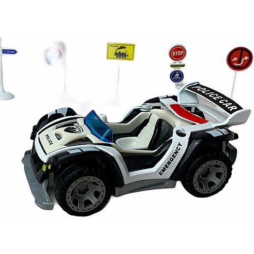 Машинка-конструктор Modified Полиция, звук от Stacked Assembly
