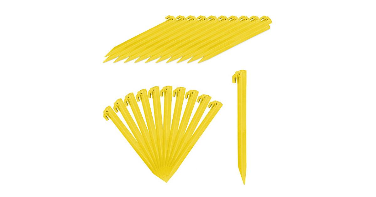 Kunststoff Heringe 32er Set gelb