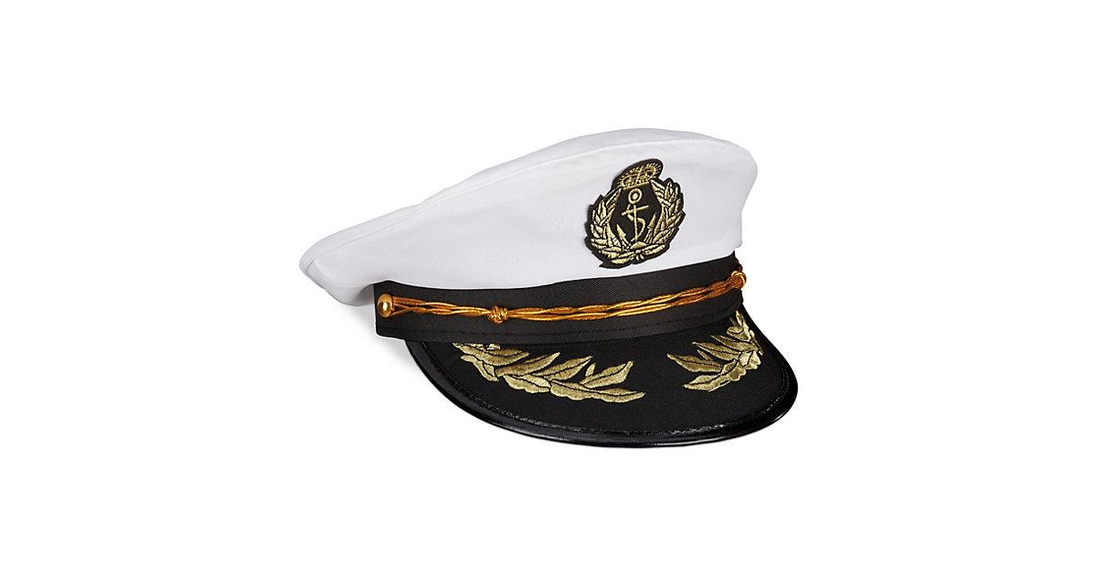 Kapitänsmütze weiß-kombi