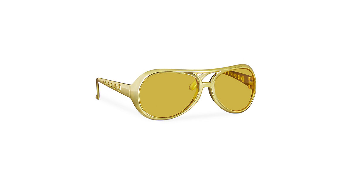 Rapper Brille Gold gold