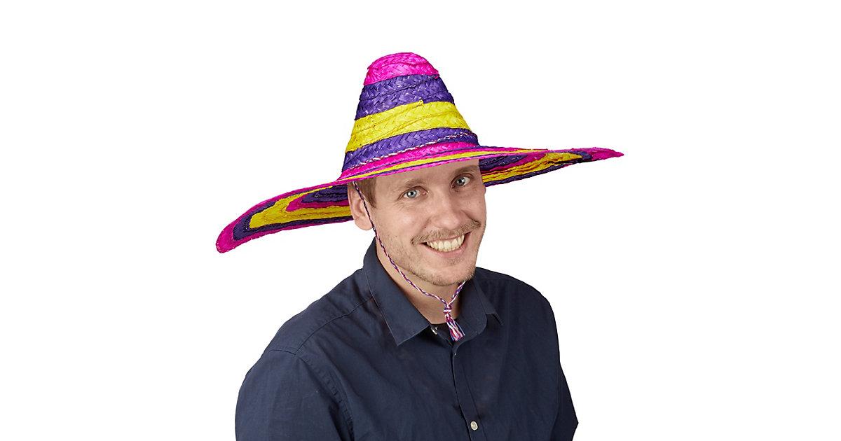 Sombrero Hut bunt mehrfarbig