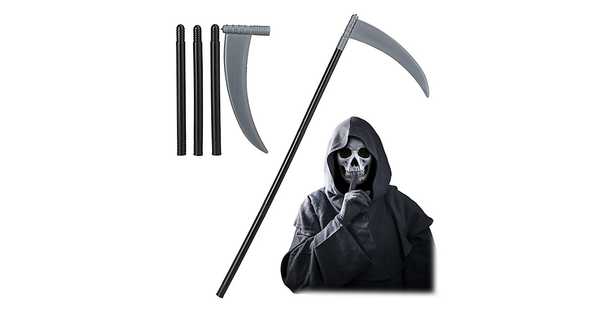 Grim Reaper Sense Fasching schwarz  Erwachsene