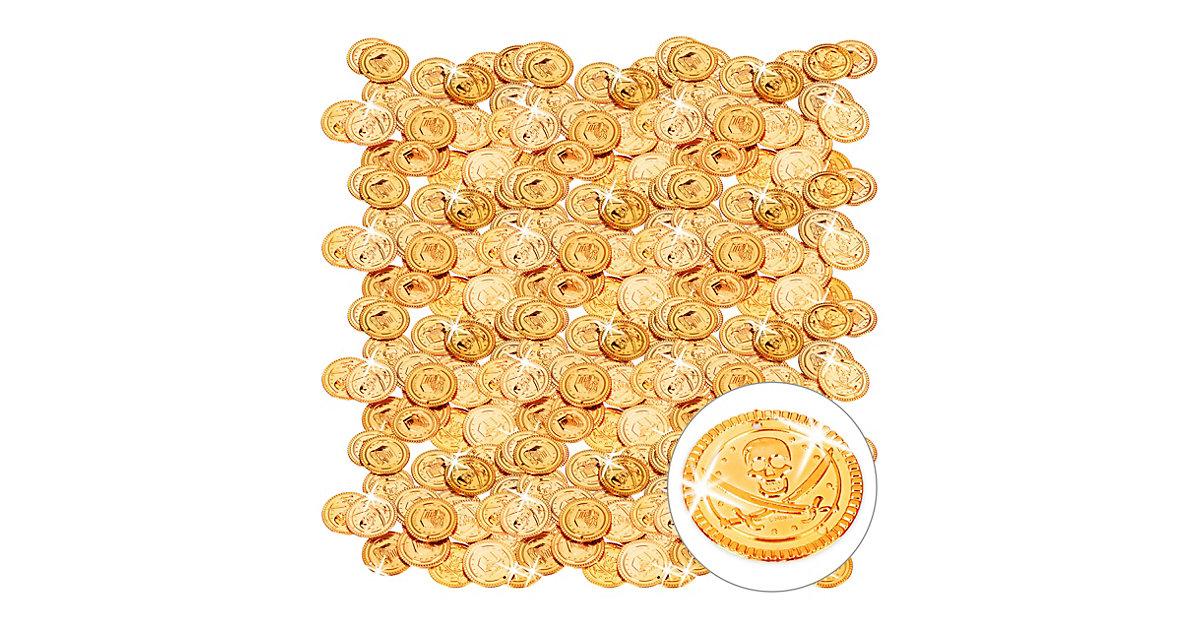 576er Pack Goldtaler Piraten Piratenschatz Piratenmünzen Spielgeld Spielmünzen