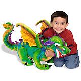 """Мягкая игрушка Melissa & Doug """"Большой Дракон"""", 84 см"""