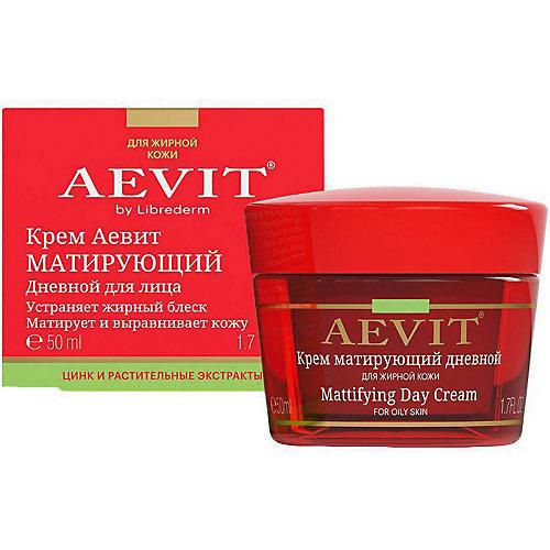 Матирующий дневной крем AEVIT BY Librederm, 50 мл