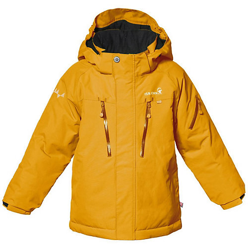 Утеплённая куртка Isbjörn - желтый