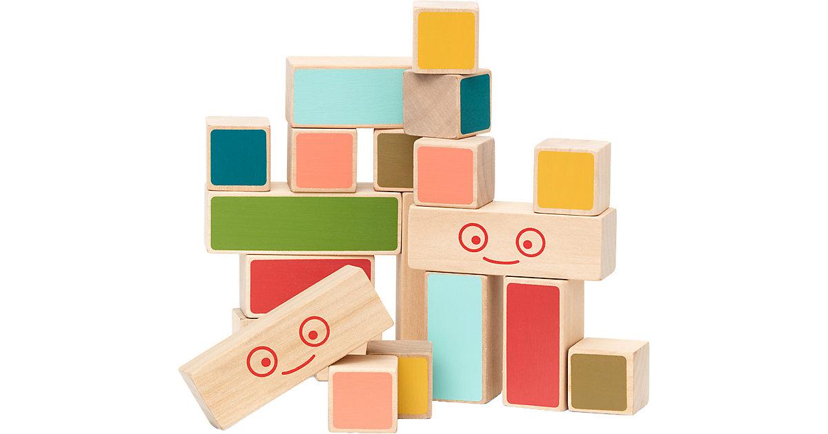 Mini Holz-Bauklötze, 20 Stück