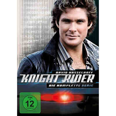 DVD Knight Rider - Die komplette Serie (Gesamtbox, 26 DVDs, Season 1-4)