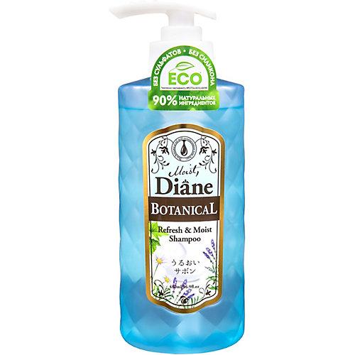 Бессиликоновый бессульфатный шампунь Moist Diane Botanical Refresh Питание, 480 мл