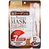 Маска для лица Japan Gals Pure5 Essence с коллагеном, 7 шт