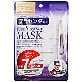 Маска для лица Japan Gals Pure5 Essence с плацентой, 7 шт