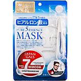 Маска для лица Japan Gals Pure5 Essence с гиалуроновой кислотой, 7 шт