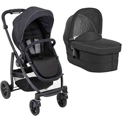 Kombi Kinderwagen Evo, Black/Grey
