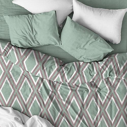 Комплект постельного белья Любимый дом  Skyline, 2-спальное - разноцветный