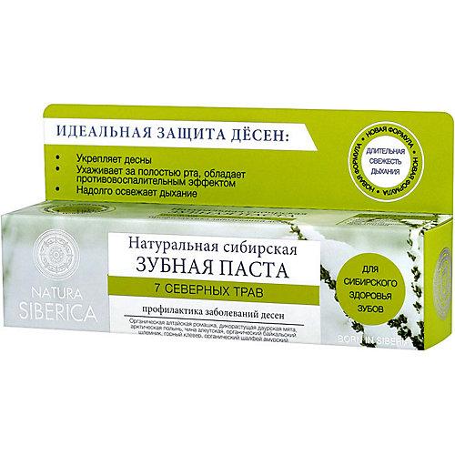 """Зубная паста Natura Siberica Бибеrika """"7 Северных трав"""", 100 гр"""