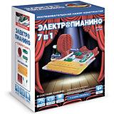 Электронный конструктор ND Play Электропианино, 7 в 1