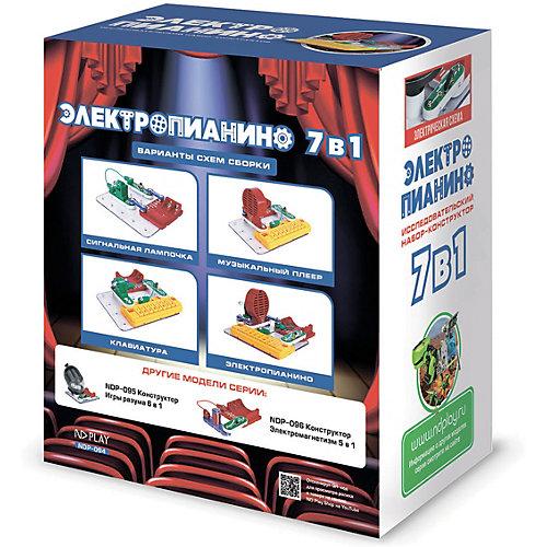 Электронный конструктор ND Play Электропианино, 7 в 1 от ND Play