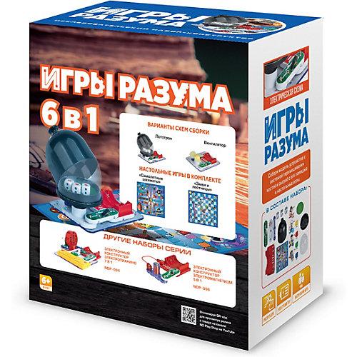 Электронный конструктор ND Play Игры разума, 6 в 1 от ND Play