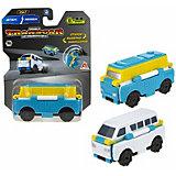 Машинка-трансформер 1Toy Transcar Double Автобус/минивэн, 8 см