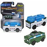 Машинка-трансформер 1Toy Transcar Double Автоцистерна/внедорожник, 8 см