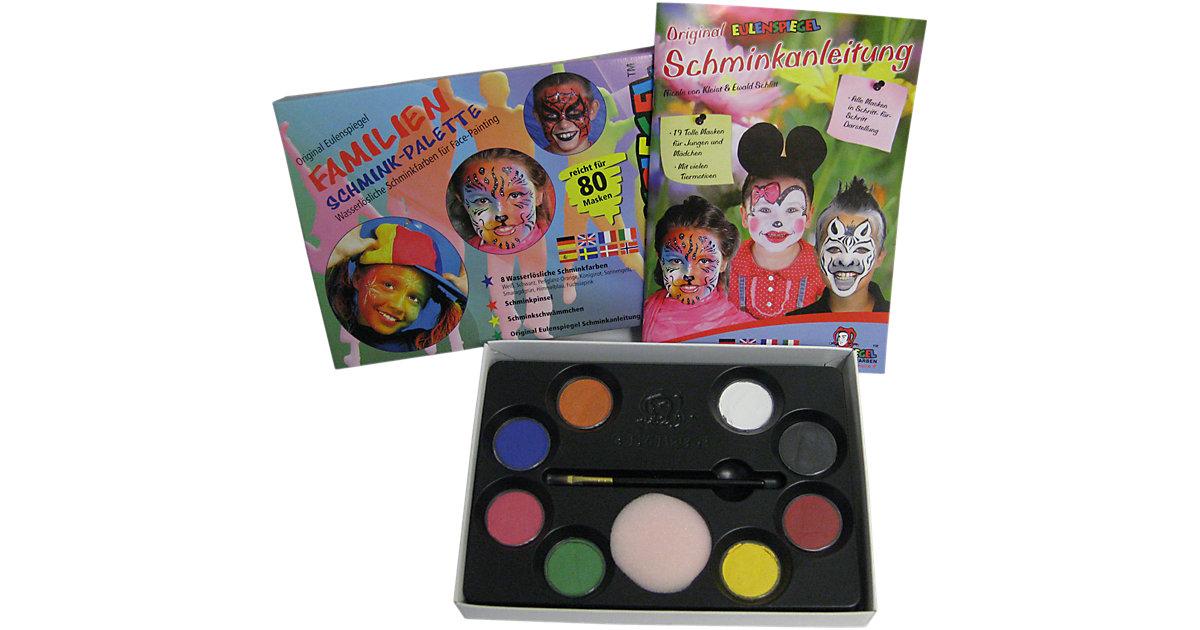 Familien-Schminkpalette, 8 Farben