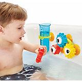 Игрушка для купания Yookidoo Разноцветные шестеренки