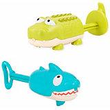 Игрушка для купания B.Toys Крокодил и акула