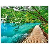 """Картины по номерам Цветной """"Лазурное озеро"""""""