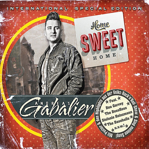 CD Andreas Gabalier - Home Sweet Home (International Special Edition, 2 CDs)