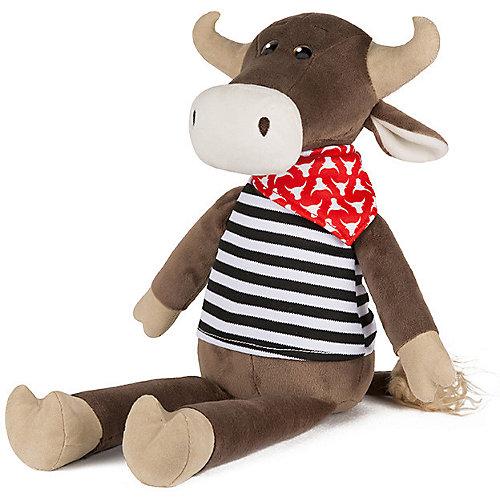 Мягкая игрушка Maxitoys Luxury Бык Гаврила в тельняшке, 23 см от Maxitoys