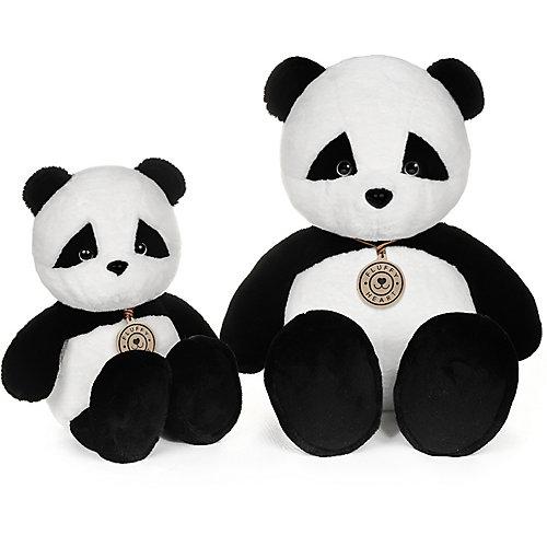 """Мягкая игрушка Fluffy Heart """"Панда"""" 25 см от Maxitoys"""