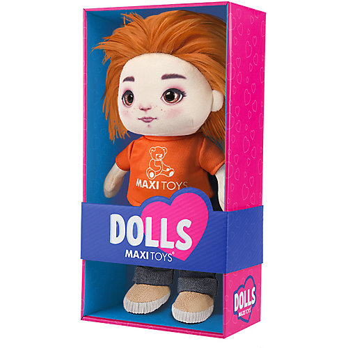 "Мягкая игрушка Maxitoys Dolls ""Кукла Бориска"" 35 см от Maxitoys"
