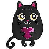 "Игрушка-подушка Maxitoys ""Кот с сердцем"", 35 см"
