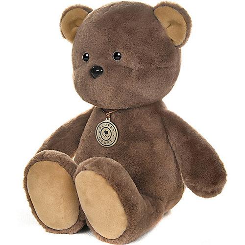"""Мягкая игрушка Fluffy Heart """"Медвежонок"""" 35 см от Maxitoys"""