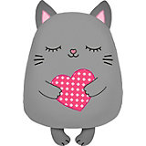 """Игрушка-подушка Maxitoys """"Сплюшка Котик"""", 30 см"""