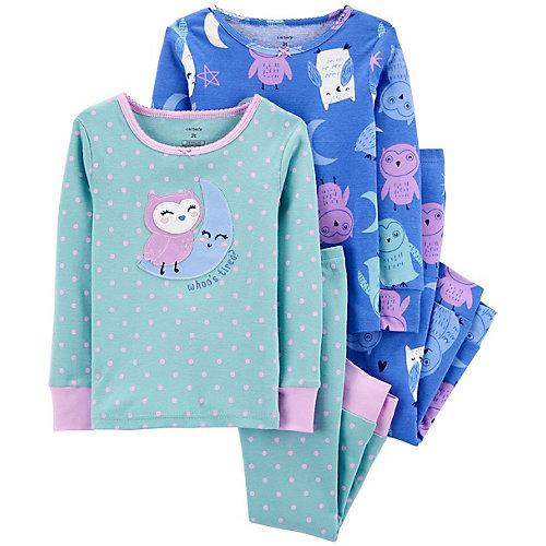 Пижама carter's, 2 шт - синий от carter`s