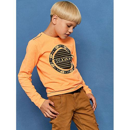 Лонгслив Juno - оранжевый от Juno