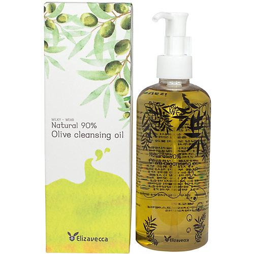 Гидрофильное масло для лица Elizavecca Natural 90% c маслом оливы, 300 мл