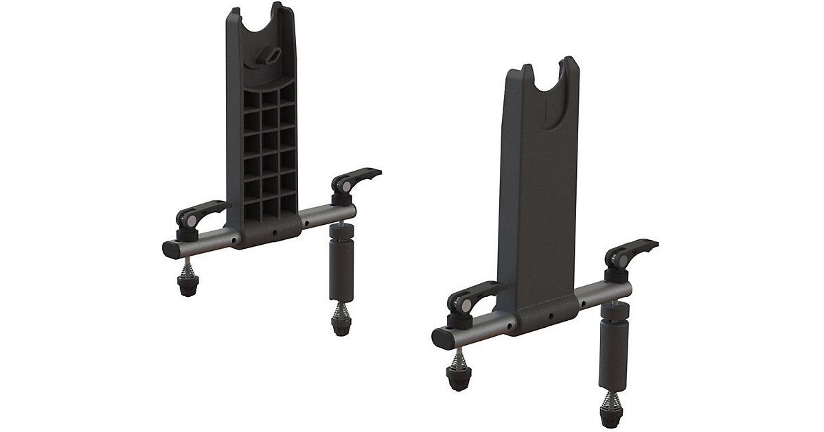Adapter Autositzschale   schwarz/silber  Kinder