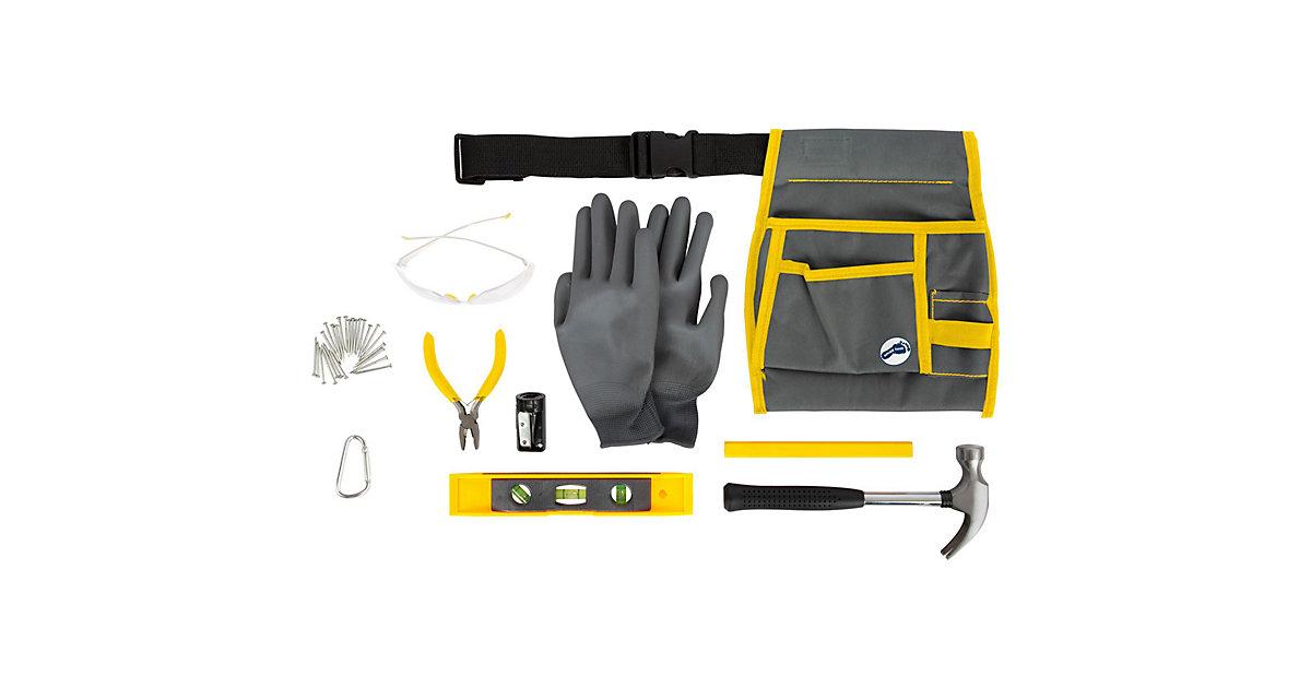 Werkzeugtasche Profi mit Werkzeug schwarz