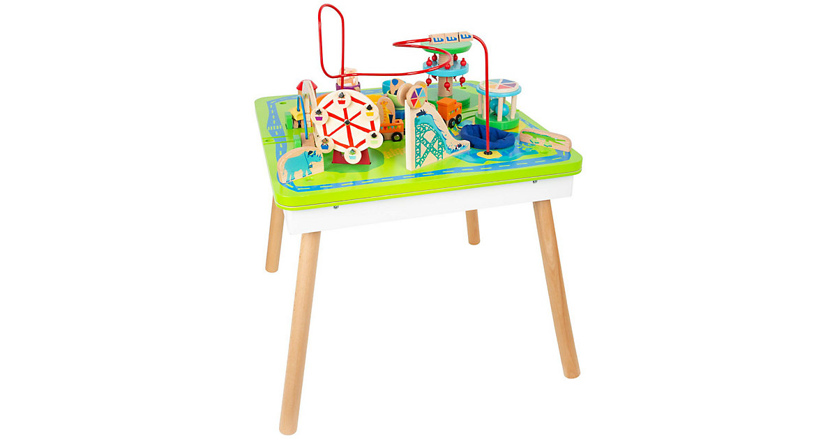 Spieltisch Freizeitpark 3 in 1 grün